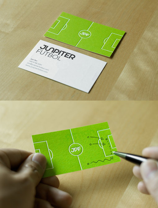 Junpiter-Football-Unusual-Business-Cards